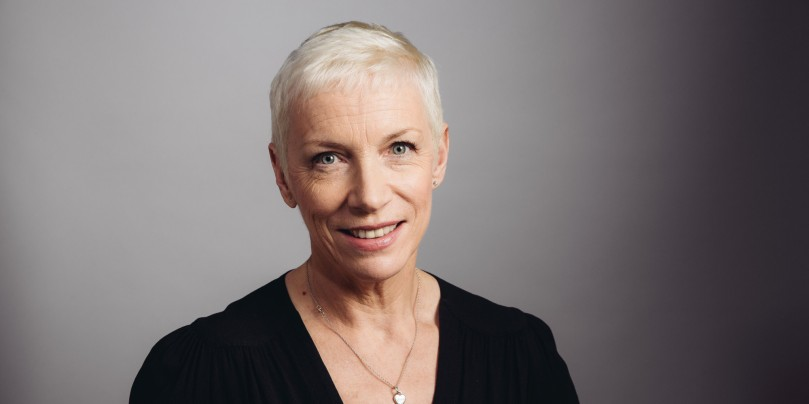 Annie Lennox poses for a portrait during an interview on Thursday, October 9, 2014 in Los Angeles. (Photo by Casey Curry/Invision/AP)